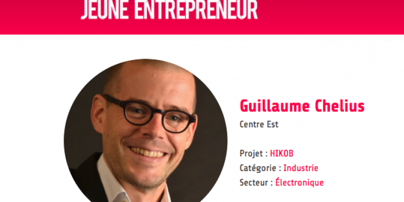 Let's vote : Guillaume Chelius, CEO d'HIKOB finalist of the Young Entrepreneur Award!
